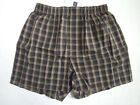 GAP Men's Army Green Plaid Design Boxer Underwear Size Small NWT
