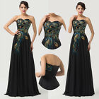 LADIES ! New Formal Long Evening Ball Gown Party Prom Bridesmaid Dress Size 6-20
