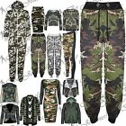 Army Camo Ladies Gym Jog Pant Track Suit Sports Jogging Bottom Trousers