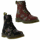 Dr Martens Belladonna 1460  8 eye Floral Print Womens  Lace-up Boots  UK 4 - 8