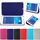 Slim Fold PU Leather Flip Stand Case Cover For Samsung Galaxy Tab 3 Lite T110