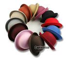 Fashion Hat Cap Vintage Trendy Ladies Women Wool Felt Cloche Derby Bowler Gift