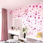 Nice Little Small Floral Flower Wall Sticker BedRoom Wall Decor Colorful Decor