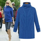 Women's Crochet Knit Sweater Loose Casual Pullover Knitwear Tops Sweater Jumper