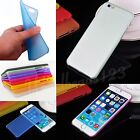 Transparent Ultra Thin 0.3mm Matte Back Case Cover Shell For iPhone 6 6S Plus