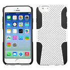 Apple iPhone 6 / 6s MESH Hybrid Silicone Rubber Skin Case Phone Cover Accessory