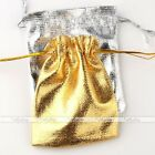 10X Favour Organza Gift Bag Christmas Wedding Jewelry Gauze Pouch Pick Size Lots