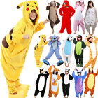 US Stock/S-XL Unisex Pajamas Kigurumi Cosplay Costume Animal Onesie Sleepwear