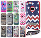 For Apple iPhone 6 4.7 IMPACT Verge HYBRID Kickstand Case Skin Phone Cover