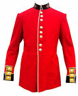 SCOTS GUARDS SERGEANT BANDSMAN TUNIC - Red Ceremonial Tunic - Extra Large