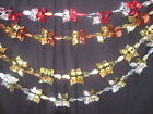 2.5 meter Christmas Foil Ceiling hanging decoration red silver bronze gold
