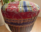 "FAIR TRADE DJEMBE BONGO DRUM HAT COVER ACCESSORIES 11-15"" L XL 2XL"