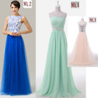Quinceanera Sexy Lady Party Wedding Bridesmaid Long Dresses Formal Evening Dress