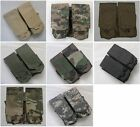 New Molle Double Mag Pouch 6 Colors--Airsoft