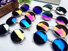 2014 New Vintage Retro Men Women Round Metal Frame Sunglasses Glasses Eyewear