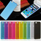 Transparent 0.3mm Ultra Slim Matte Plastic Back Case Cover For iPhone 5/5s/6 New