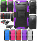 Apple iPhone 6 Plus 5.5 Combo Holster HYBRID KICKSTAND Case + Screen Protector