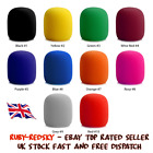 Pro vocalist antipop Microphone Foam Cover Sponge Windshield Mic Shield 5 colour