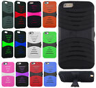 For Apple iPhone 6 Plus 5.5 Hard Gel Rubber KICKSTAND Case Phone Cover Accessory