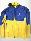 Ralph Lauren RLX men Yellow blue Colorbocked track jacket size large or XL