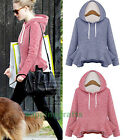 New Women's Flounced Hoodies Sweater Fashion Casual Outwear Basic Coats Jackets