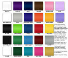 "9x12"" Adhesive Backed Craft Vinyl Sheet (hobby/sign cutter) Choice of 27 Colors!"