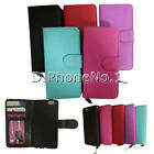 For iphone6 6G 4.7''  Cover PU Leather Credit Card Wallet Slot Flip Case  New