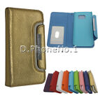 For Samsung Galaxy S4 Magnetic Cover Flip Leather Wallet Card Slot Case 2 in 1