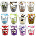 Designer Style Scented Candle In Glass Jar Pot Long Burn Time Fragrant Wax Gift