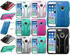 For Apple iPhone 6 4.7 IMPACT TUFF HYBRID Extreme Case Skin Cover + Screen Guard