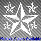 Custom Nautical Stars Style Vinyl Sticker Decal Multiple Colors/Sizes Star104