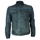 Mens Levis Slim Fit Blue Pines Trucker Jacket