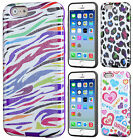 For Apple iPhone 6 / 6s  TPU HARD Hybrid TPU CANDY Gel Skin Case Phone Cover