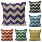 Zig Zag Colored Linen Waves Cushions Cushion Covers Throw Pillow Case Home Decor