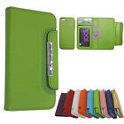 For iphone 5C Magnetic Cover Flip PU Leather Wallet Credit Card Slot Case