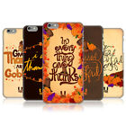 HEAD CASE DESIGNS THANKSGIVING TYPOGRAPHY CASE COVER FOR APPLE iPHONE 6 PLUS 5.5