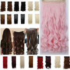 Salon 1pcs 5clips straight/curly/corn wavy Clip In Hair Extensions on sale N1
