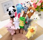 Farm Animal Soft Finger Puppets Toy Stocking Filler Bay Bedtime Party Bag UK