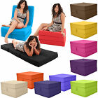 Gilda Fold Out Adult Cube Guest Z Bed Chair Stool Single Futon Chairbed pouffe