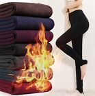 Hot Women's Knitted Insulated High Waist Leggings Thick Warm Winter Slim Pants