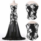 VINTAGE Masquerade Attire Long Bridesmaid Party Gown Prom Cocktail/Evening/Dress