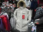 NEW WOMEN'S NORTH FACE ARCTIC PARKA ANHD11P VINTAGE WHITE