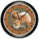 CHOW WALL CLOCK PERSONALIZED GIFT DOG PET VET NAME PUPPY