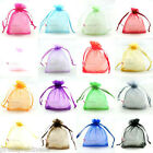 25/50/100 Premium 5x7cm Organza Wedding Gift Jewellery Favour Bags Pouches