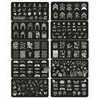 Multi-Designs Steel plate Nail Art Image Stamp Stamping Plates Manicure Template
