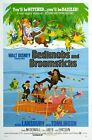 Vintage Disney Movie Bedknobs and Broomsticks Poster A3 / A2 Print