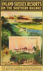 Southern Railway Midhurst Petworth Sussex Railway Poster A3 Print