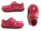 Clarks Alana Lou First Shoes Raspberry Girls Leather