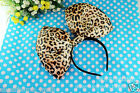Adult Sexy Leopard Animal Print costume party Fancy Woman Female Dress headband