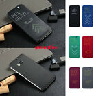 New Ultra Thin Dot View Matrix Mesh Flip Case Cover for HTC One M8 2014